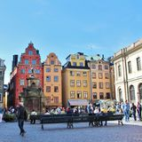 Stortorget in the Old Town Royalty Free Stock Photos