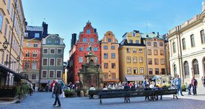 Stortorget in the Old Town Royalty Free Stock Images