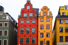 Stortorget place in Gamla stan Royalty Free Stock Images