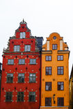Stortorget place in Gamla stan Stock Photos