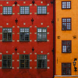 Stortorget place in Gamla stan Stock Image
