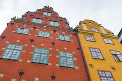 Stortorget place in Gamla stan, Stockholm Royalty Free Stock Image