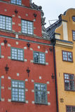 Stortorget place in Gamla stan, Stockholm Royalty Free Stock Photos