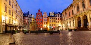 Stortorget square in Stockholm, Sweden Stock Image