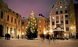 Stortorget, Stockholm, Suède Images libres de droits