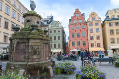 Stortorgete Square, Stockholm Royalty Free Stock Photo