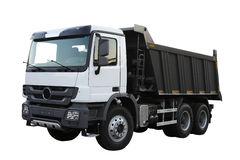 Stortplaats-lichaam vrachtwagen Royalty-vrije Stock Foto's