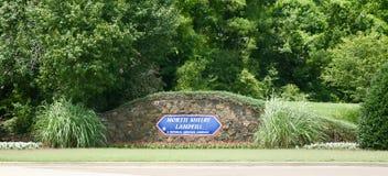 Stortplaats van het Noorden Shelby County stock foto's