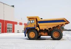 Stortplaats-vrachtwagen royalty-vrije stock foto's