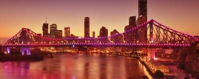 The Story Bridge. The Story Bridge in Brisbane, QLD - Australia Royalty Free Stock Photo