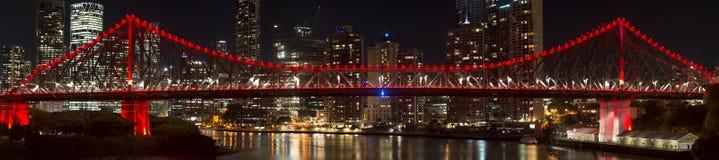The Story Bridge. The iconic Story Bridge in Brisbane, Queensland, Australia Royalty Free Stock Images