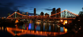 Story Bridge Royalty Free Stock Photo
