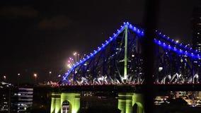 The Story Bridge stock video footage