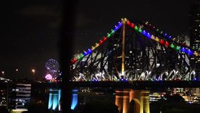 The Story Bridge stock footage
