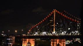 The Story Bridge stock video