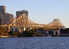 Story Bridge Brisbane stock photo