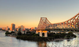 Story Bridge Brisbane Royalty Free Stock Image