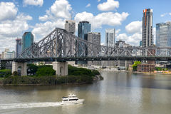 The Story Bridge in Brisbane Stock Photography