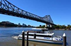Story Bridge - Brisbane Queensland Australia Royalty Free Stock Photos