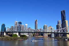 Story Bridge - Brisbane Queensland Australia Stock Image