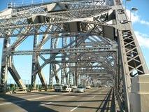 Story Bridge Brisbane. Road bridge over the river in Brisbane Stock Photo