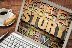 Story concept Royalty Free Stock Photography