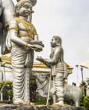 Story of the Murudeshwar  Temple royalty free stock photos