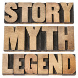 Story, myth, legend Stock Photography