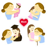 Story of parent love Stock Images