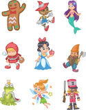 Story people. Cartoon story people,vector illustration Stock Images