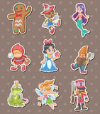 Story people stickers Royalty Free Stock Images