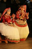 One of the major forms of classical  Kerala dance Stock Photos