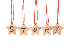 Story word stock images