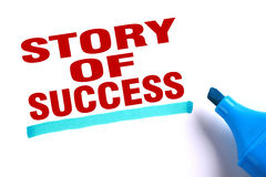 Story of success Royalty Free Stock Images