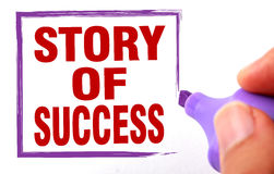 Story of success Stock Photos