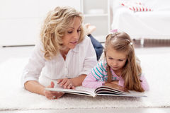 Story telling time Royalty Free Stock Photo