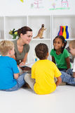 Story time royalty free stock images