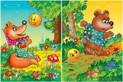 Storybook Background stock photos