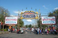 Storybook cyrk, Disney World, podróż, Magiczny królestwo zdjęcia royalty free