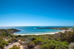 Storybook dynamitu zatoka w zieleni głowy zachodniej australii zdjęcie stock