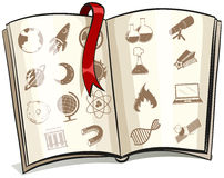 A storybook. On a white background Stock Photo
