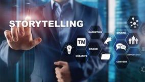 storytelling Концепция дела говорить рассказа финансовая Абстрактная запачканная предпосылка стоковое фото rf
