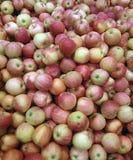 Stos świezi jabłka fotografia stock