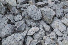 Stos łamana betonowa budowa Fotografia Royalty Free