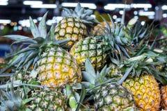 Stos ananasy Fotografia Royalty Free