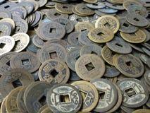 Stos antyczne monety Zdjęcie Royalty Free
