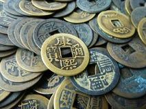 Stos antyczne monety Fotografia Royalty Free