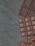 Stos asortowani czekoladowi bary Obraz Royalty Free
