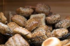 Stos chlebowe babeczki fotografia royalty free