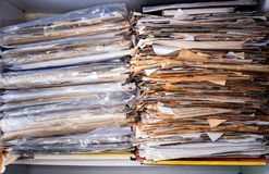 Stos dokumenty zdjęcia stock